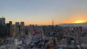 東京の朝7:00